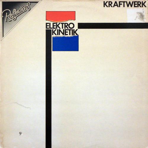 Kraftwerk - Elektro Kinetik - front cover